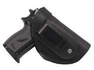 Black Leather Inside the Waistband Holster for Mini/Pocket 22 25 32 380 Pistols