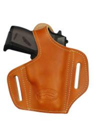 Saddle Tan Leather Pancake Holster for Mini/Pocket 22 25 32 380 Pistols