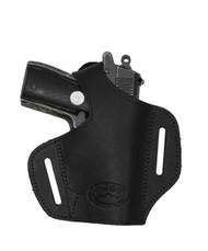 Black Leather Pancake Holster for Mini/Pocket 22 25 32 380 Pistols
