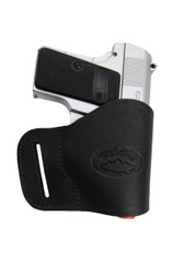 Black Leather Yaqui Holster for Mini/ Pocket 22 25 32 380 Pistols