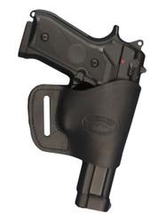 leather yaqui holsterbelt loop holster