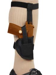 Concealment Ankle Holster for Mini/Pocket .22 .25 .380 Pistols