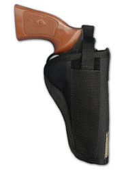 "Belt Holster for 4"" 22 38 357 41 44 Revolvers"