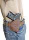 belt holster for compact 9mm 40 45 pistols
