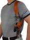 leather revolver shoulder holster
