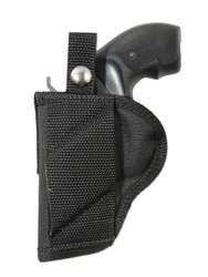 "New Cross Draw Outside the Waistband (OWB) Gun Holster for 2"" Snub Nose Revolvers (#CR2)"