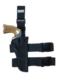 "Tactical Leg Holster for 4"" .38 .357 .41 .44 Revolvers"