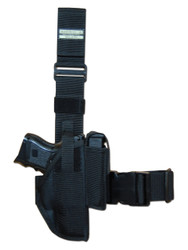 New Tactical Leg Gun Holster for Compact Sub-Compact 9mm 40 45 Pistols (#78-22)