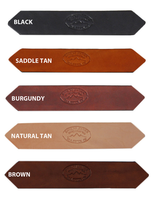 "1 1/2"" Heavy Duty Leather Belts for Sizes 39"" - 46"""