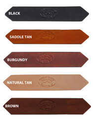 "1 1/2"" Heavy Duty Leather Belts for Sizes 54"" - 62"""