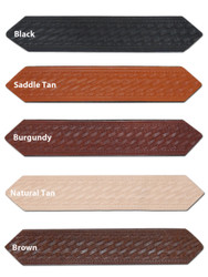 """New 1 1/2"""" (1.5"""") Basketweave Leather Belts for Sizes 47"""" - 53"""" (#L15B)"""