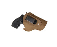 "New Olive Drab Leather Inside the Waistband Gun Holster for 2"", Snub Nose .38 .357 Revolvers (#68-8OD)"