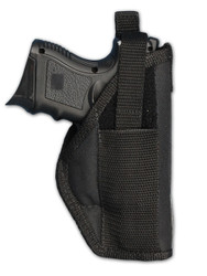 Belt Holster for Compact Sub-Compact 9mm .40 .45 Pistols with LASER