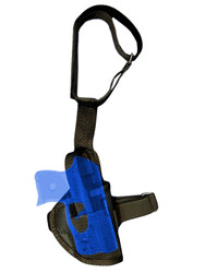 ankle holster for .22 .25 .32 .380 pistols with laser