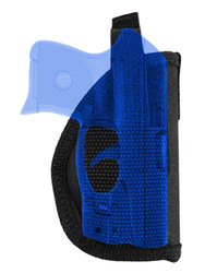 New OWB Belt Gun Holster for Mini/Pocket .22 .25 .32 .380 Pistols with LASER (#L49s)