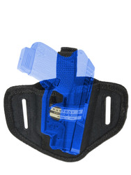Ambidextrous Pancake Holster for Mini/Pocket .22 .25 .32 .380 Pistols with LASER