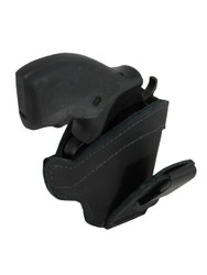 "Black Leather Tuckable IWB Holster for Snub Nose 2"" 22 38 357 41 44 Revolvers"