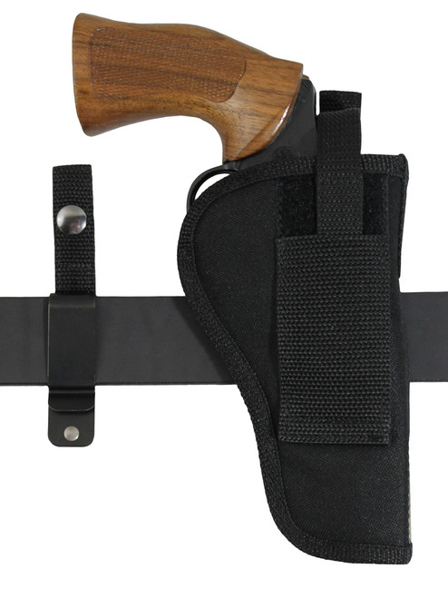 "360Carry 12 Option OWB IWB Cross Draw Holster for 4"" Revolvers"