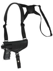 Horizontal Shoulder Holster for Full Size 9mm 40 45 Pistols