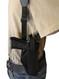vertical concealment shoulder holster