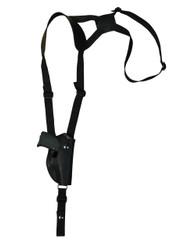 leather vertical shoulder holster