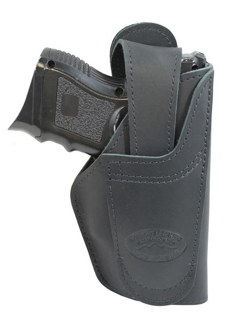 leather ambidextrous belt holster