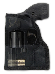 "Ambidextrous Pocket Holster for 2"", Snub Nose .38 .357 Revolvers"