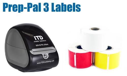 Prep-Pal 1 x 1 Labels