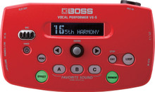 Boss VE-5-RD Vocal Performer Effects Pedal - Red