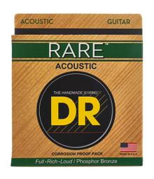 DR Strings Rare Phosphor Bronze Acoustic Guitar Strings - .012 - .054