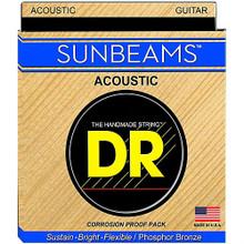DR Strings Sunbeams Phosphor Bronze Acoustic Guitar Strings - .010 - .048