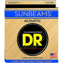 DR Strings Sunbeams Phosphor Bronze Acoustic Guitar Strings - .011 - .050