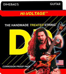 DR Strings Dimebag Hi-Voltage Nickel Electric Guitar Strings - .010 - .046