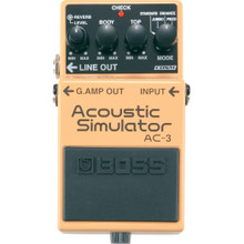 Boss AC-3 Acoustic Simulator Effects Pedal