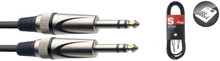 Stagg SAC1PSDL 1m Audio Cable TRS Jack to TRS Jack