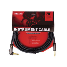 Planet Waves by D'Addario 20' Angled Circuit Breaker Cable with Latching Switch
