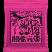 Ernie Ball Super Slinky .009 - .042 Nickel Wound Guitar Strings