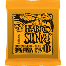 Ernie Ball Hybrid Slinky .009 - .046 Nickel Wound Guitar Strings