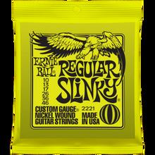 Ernie Ball Regular Slinky .010 - .046 Nickel Wound Guitar Strings