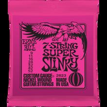 Ernie Ball 7-String Super Slinky .009 - .052 Nickel Wound Guitar Strings