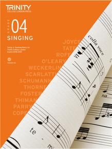 Trinity College London Singing 2018-2021 Book & CD - Grade 4