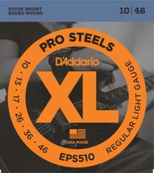 D'Addario EPS510 ProSteels Regular Light Electric Guitar Strings 10-46