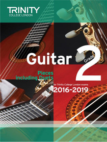 Trinity College London Guitar Exam Pieces 2016-2019 Grade 2