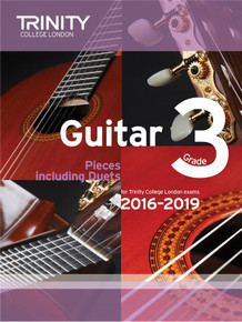 Trinity College London Guitar Exam Pieces 2016-2019 - Grade 3