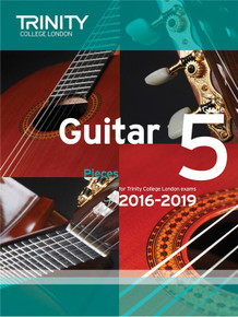 Trinity College London Guitar Exam Pieces 2016-2019 - Grade 5