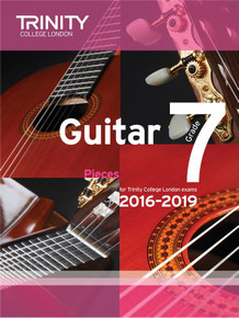 Trinity College London Guitar Exam Pieces 2016-2019 -  Grade 7