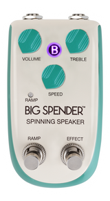 Danelectro Billionaire Tone Big Spender Spinning Speaker Guitar Effects Pedal