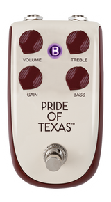 Danelectro Billionaire Tone Pride Of Texas Overdrive Guitar Effects Pedal