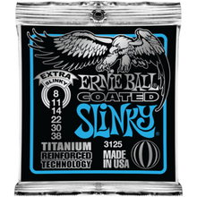 Ernie Ball Coated Titanium RPS Extra Slinky .008 - .038 Guitar Strings