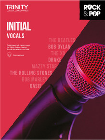 Trinity Rock & Pop Vocals 2018 - Initial Grade